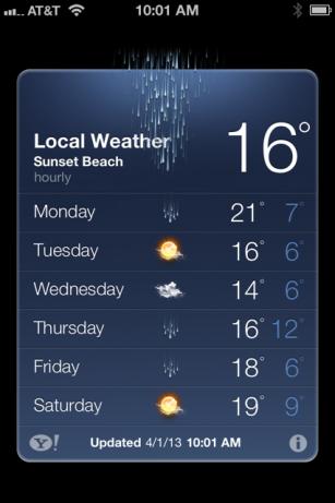 Misunderstood Weather