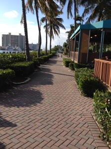 Walkway by the Marina