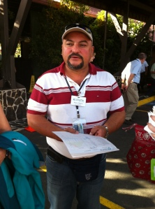 Our Tour Guide Mynor Segura