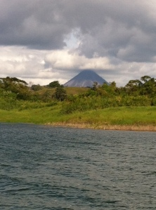 View of Volcano from the Boat